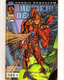 Heróis Renascem - Homem de Ferro n. 1   [Marvel | HQ Gibi Quadrinhos]