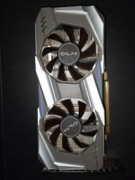 Placa de Vídeo Galax GeForce GTX 1060 OC Dual, 6GB GDDR5, 192Bit