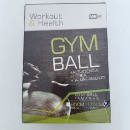 (WhatsApp) bola de ginastica / pilates - gym ball - mb fit - 75cm