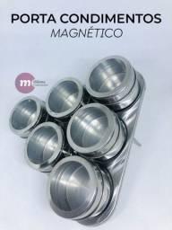 Porta condimentos magnéticos