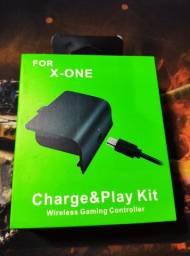 Kit bateria e cabo para Xbox one