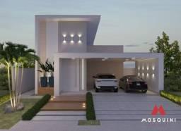 Casa de alto padrão no terras alphaville com 03 quartos sendo 01 suíte e área gourmet