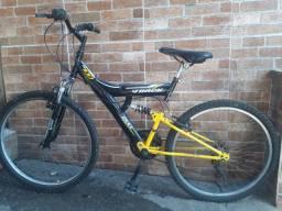 Bicicleta Track TB 100, Dupla suspensão