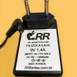 """Fonte 9v 1,4a Carregador Para Balança Eletrônica Filizola Ea-15 Ea15 9v 1,4a"""""""