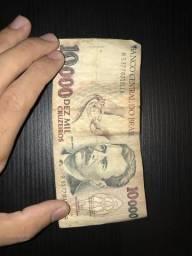 Cédula antiga - 10 Mil Cruzeiros