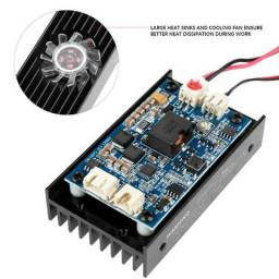 Módulo Laser Potência 15w 15000mw 450nm Cnc Com Ttl/pwm