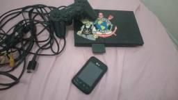 Playstation 2 e 1 Celular L20. Apenas 180,00