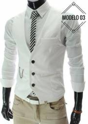 Colete masculino da moda