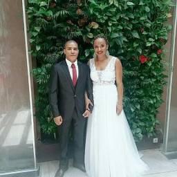 Vestido de noiva e terno luxo 6298223505