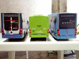 Miniaturas de ônibus controle remoto valor por unidade