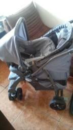 Carrinho+bebe conforto+base para carro Burigotto