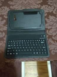 Capa teclado bluetooth para tablet