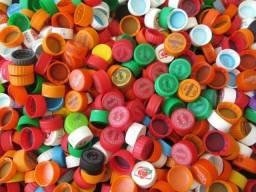 500 Tampinhas Pet cores diversas