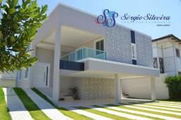 Casa no Alphaville Eusébio com 5 suítes fino acabamento venda