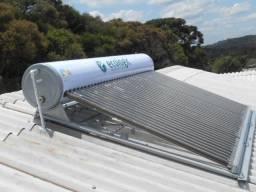 Aquecedor solar de água acoplado de tubos à vácuo, novo