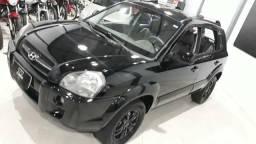 Hyundai tucson top 2008automática aceitamos motos 4 cilindros - 2008