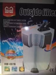 Filtro aquário com UV - completo