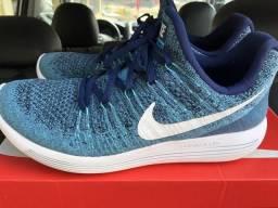 73d4226321 Nike Lunarepic Low Flyknit 2 Semi-Novo!!! 42BR