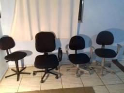 3 Cadeiras Presidente Escritórios Profissionais