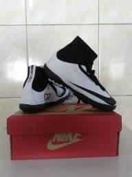 Chuteira Society Nike Mercurial. Tamanhos. 38 c9ab8d9aac088