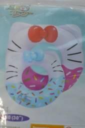 Bóia inflável gatinha confeito 80cm R5-27