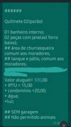 Alugo Casa/quitinetes/ Aptos-centro Cruz Alta RS.