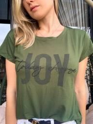 T-shirt Viscolycra Verde Militar