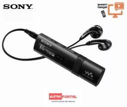 Mp3 player 4gb radio fm sony Walkman Nwz-B183F com usb integrada