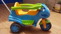 Moto de Passeio Max Azul Calesita