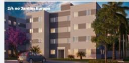 Vendo apartamento de 2/4 no condomínio Madrid