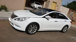 Sonata Hyundai Branco Raridade 2012/2013 pego Carro - 2013