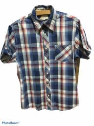 Camisa xadrez unisses tamanho P