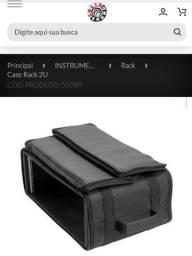 Semi case solid sound , 2 un, bag, rack, case zero