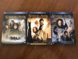 Trilogia O Senhor Dos Anéis Box 3 Dvds Duplos