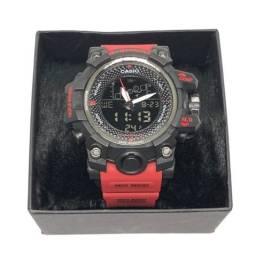 Relógio Casio G-shock Rangeman Vermelho Com Garantia Produto Novo