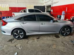 Civic EX Automático 2018, Na garantia de fábrica, Baixa km 13000, Único Dono