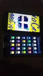 Troco 2 celulares Moto Z2 play e J7 Prime