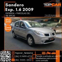 Sandero 1.6 8V 2009