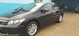 Honda Civic LXL 1.8 Flex AT, ano/modelo 2012/2012, completo