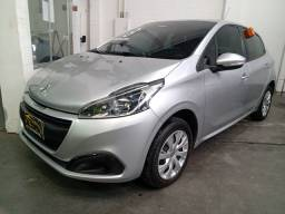 Peugeot 208 1.2 Active 12v Flex 4P Manual 2018 ( + pequena entrada)