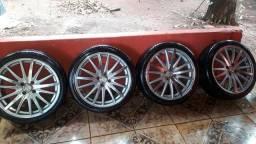Rodas 17 com pneus bons