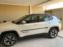 Jeep Compass Limited, interior caramelo - 2017
