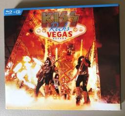 KISS - Rocks Las Vegas - Bluray Duplo + CD - Show Acústico - Importado
