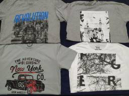 Camisetas e regatas