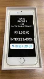 Iphone 8 - 64 GB - Branco