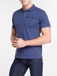Camiseta Polo Calvin Klein Jeans Marinho