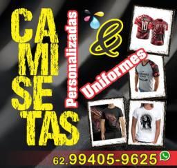 Camisetas Personalizadas e Uniformes