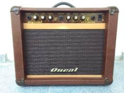 Cubo De Guitarra 30w Rms Marrom Ocg-100-Mr Oneal