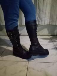 Coturno Vilella boots n 37
