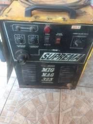 Máquina mig marca suprema 325 amperes com tocha